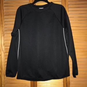 Black Youth Majestic Therma Base Long Sleeve Top